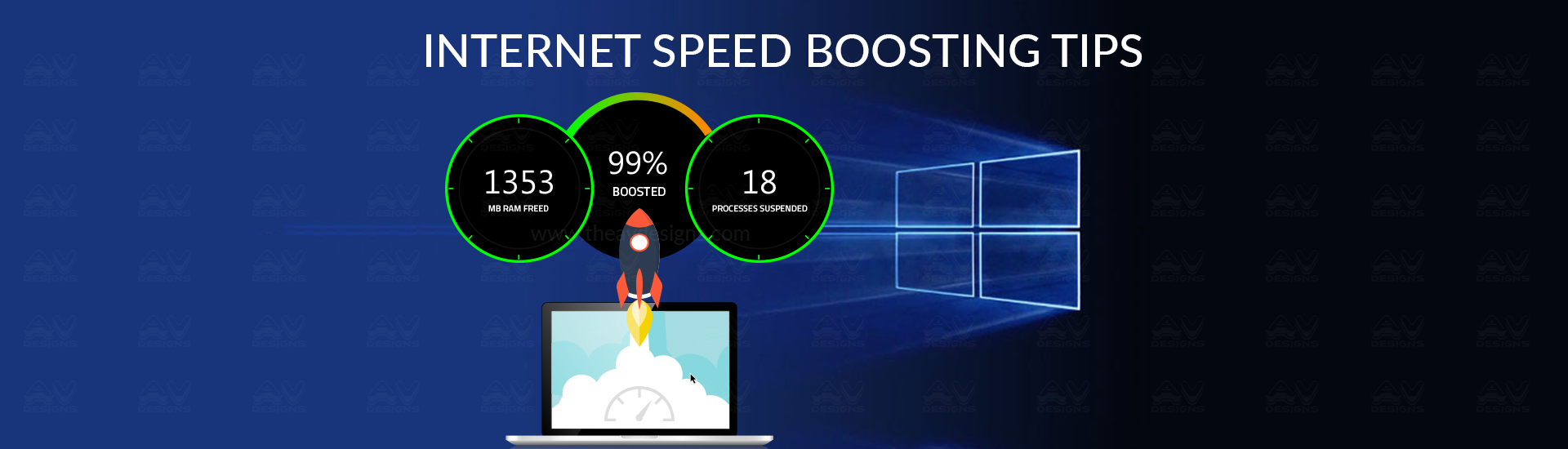 how to speed up internet download speed